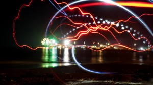 Lights & night picture, Apia, 04
