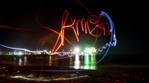 Lights & night picture, Apia, 03