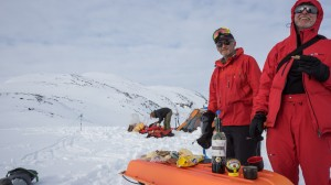 Wine, Cheese and Marmite, delicacies in Greenland