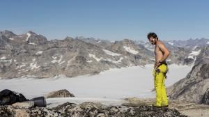 Matt, sun bath, Greenland