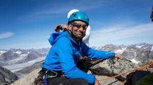 Shae climbing, Greenland