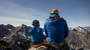 Shae and Matt, climbers, Greenland